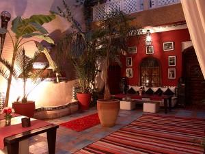 Patio - Riad Marrakech Médina Eden