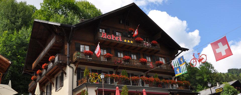 hotel ski champery