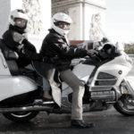 moto-taxi-Paris-Arc-de-Triomphe