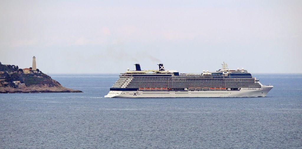 départ de croisière avec celibrity cruise